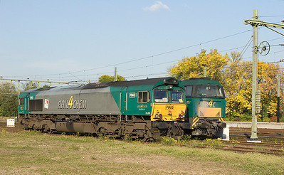 There is a lot of chemical traffic in the Sittard area due to DSM's large chemical complex in nearby Lutterade. Here R4C PB02 and a G2000 enjoy the autumn evening sun in Sittard.