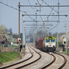 Captrain 6601 on the coal train 48871 (Born - Bressoux/B - Bettembourg-Marchandises/L) approaching Eijsden.