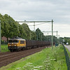 "ACTS 1606 ""Harderwijk"" approaches Bunde with the trash train 50094."