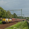 B-Cargo 7774 + 7773 haul the good-sized loaded limestone train 48555 (Yves-Gomezee/B - Millingen/D) through Bunde.