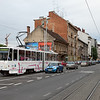 Tatra KT4YU 326 on line 9 close to the Museum of Technology.
