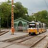 Budapest - Tatra T5C5K 4003 on line 61 stops at Budagyongye.