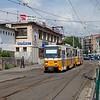 Budapest - Tatra T5C5K 4001 on line 61 at Moszkva Ter.