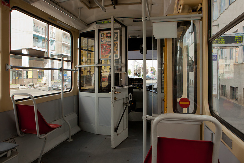 Interior of a Tatra KT4YU.
