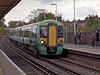 29 Oct 2011 Class 377 EMU on a Brighton to Southampton service.<br /> This train will have taken the direct Havant to Cosham line at the Farlington triangle.