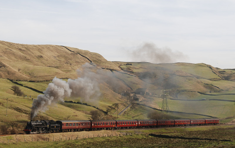 On 9th Feb 2008 the pocket rocket 76069 is approaching the summit of the climb