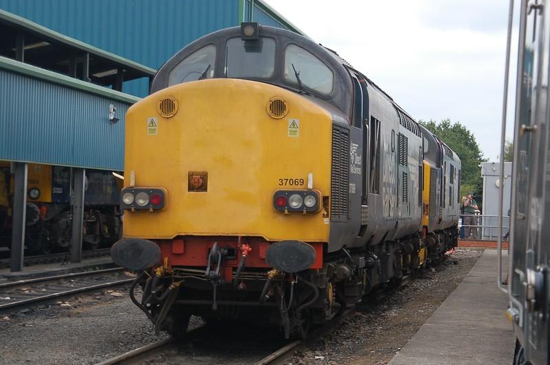 37069 - Crewe DRS Gresty Bridge Depot - 21 July 2018