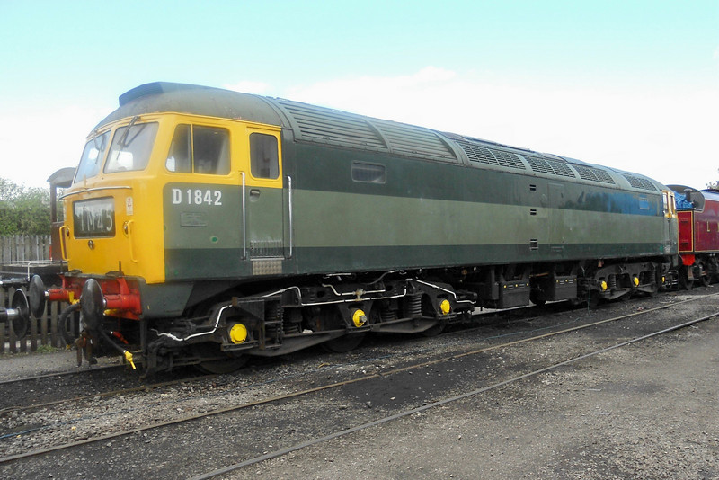 D1842 - Crewe Heritage Centre - 8 May 2011
