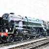 70000 'Britannia' at Crewe Works Open Day