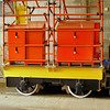 TW4 4w Tower Car Trailer - Crich Tramway Museum