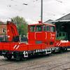 058 Maintenance Car with Maintenance Wagon 061