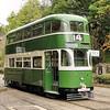 869 Double Deck Tram Crich Tramway Museum