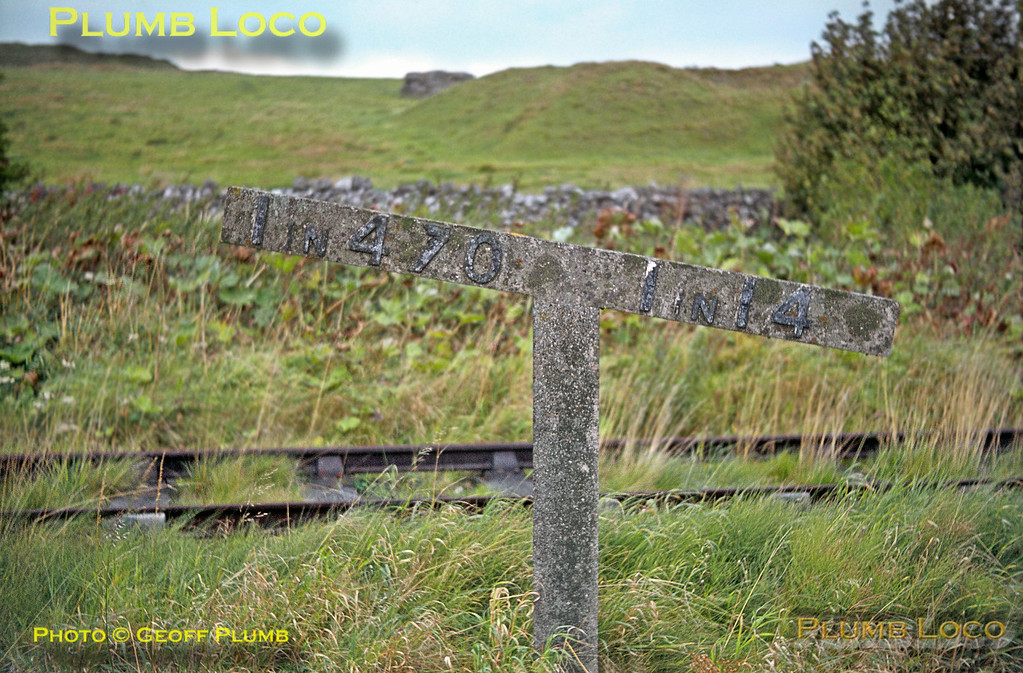 Gradient Post, Hopton Incline, 27th September 1964