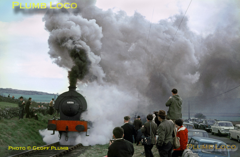 68006 & 68012, Hopton Incline, 30th April 1967