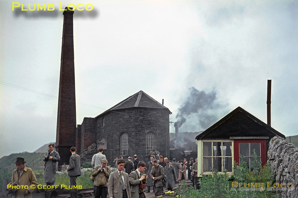 Middleton Top, Winding-House, 27th June 1964