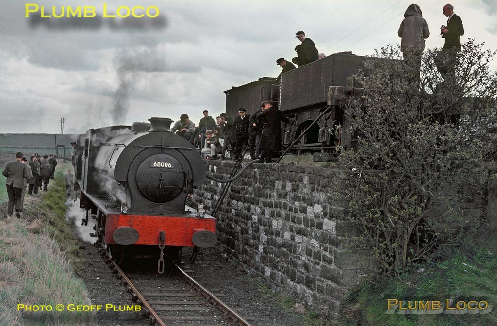 68006 & 68012, Longcliffe, 30th April 1967