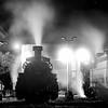 Night falls in the Chama yard 10/16/15