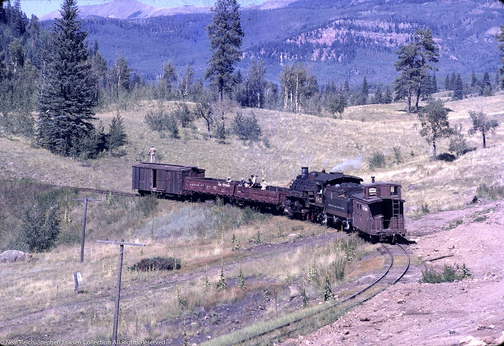 Its September 15th of 1970 and the work train is underway on the line.