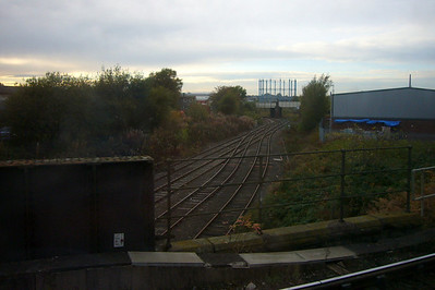 The goods lines of Bog Junction at Carlisle.