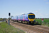 185147 passes Maud's Bridge at 12:50 21/04/10 with a Manchester - Cleethorpes service.