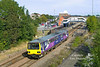 144010 departs from Scunthorpe at 14:19 on Saturday 28th Sept 2013 with the 2P73 Northern Rail service to Worksop.