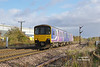 150134 passes the Heron Foods distribution depot at Lowfield Lane, Melton, forming the late running 2R06 12:04 Hull - York at 12:53 on Saturday 5th November 2016.