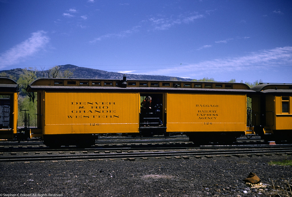 May 28, 1955 Chama NM, Baggage #126.