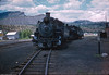 K-36 #486 is captured in this shot near the Durango roundhouse on July 5th, 1958.