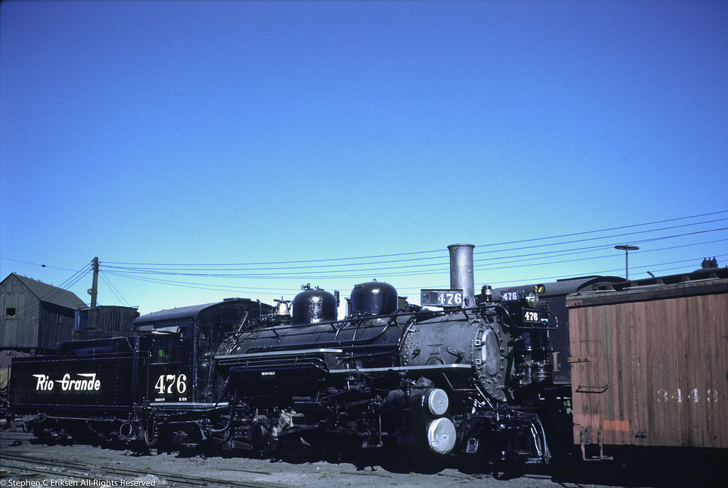 K-28 #476 does not yet have its fake balloon stack in this view from June of 1951.