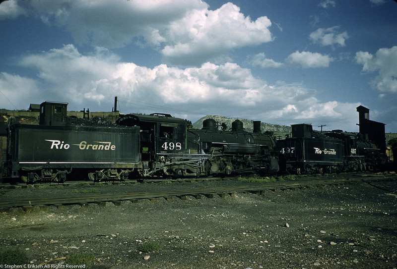 If you'd visited Durango in September of 1959 you would have encountered sequentially numbered K-37's number 497 and 498.