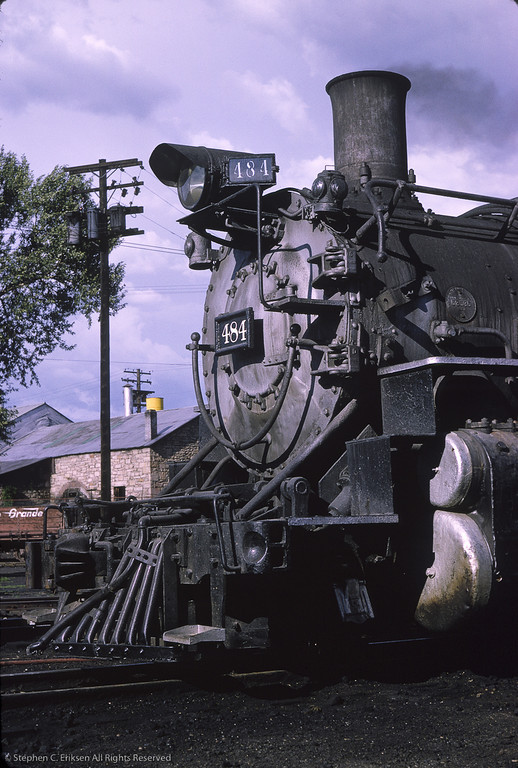 July 23rd, 1965 finds K-36 #484 resting in Durango.