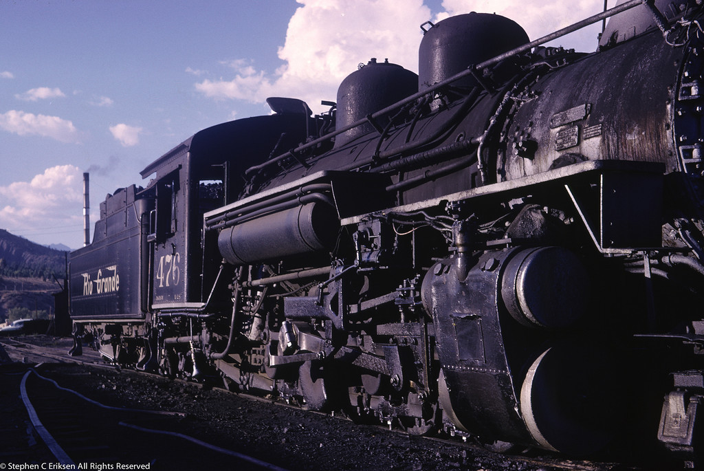 K-28 #476 in Durango, love the details in this shot.
