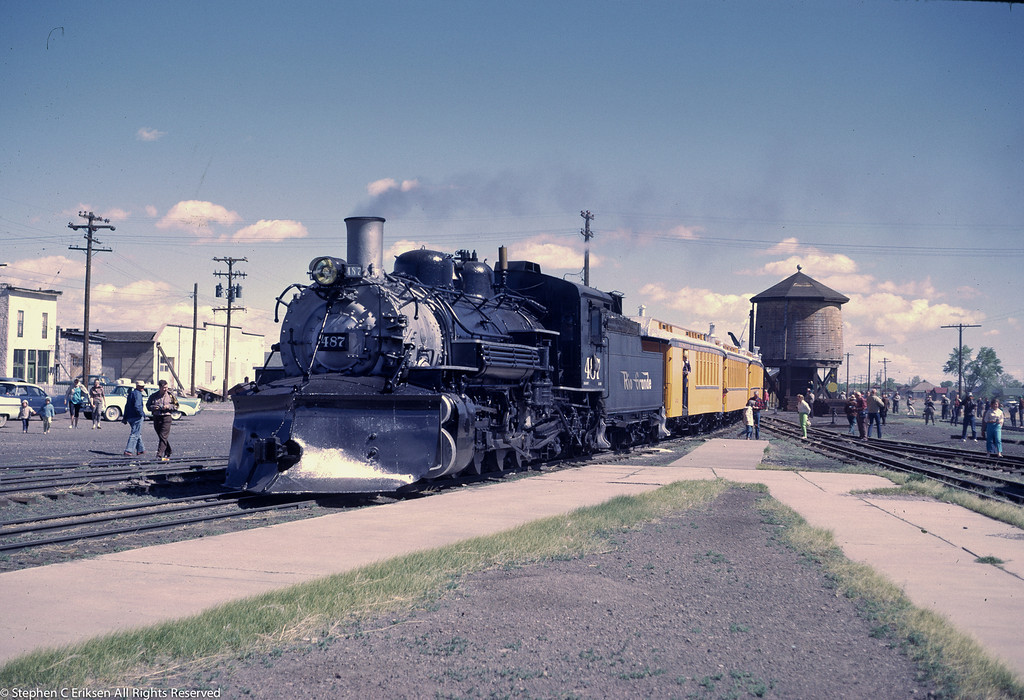 #487 in Antonito in June 1962.