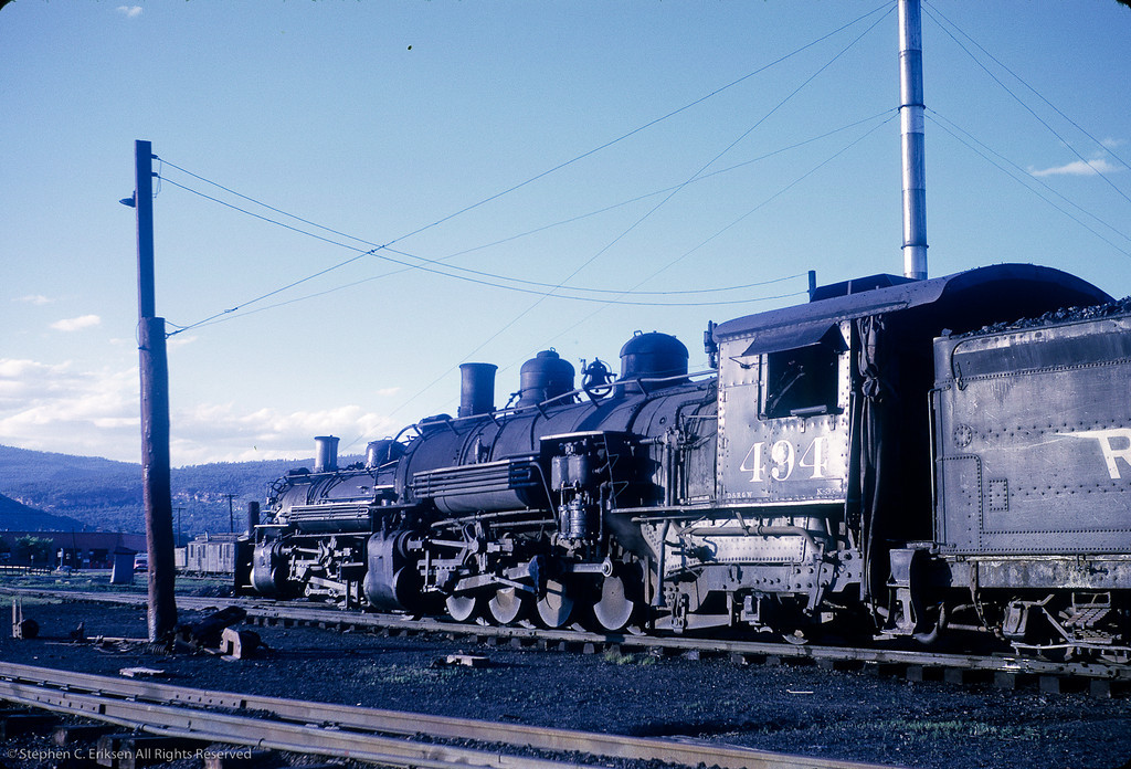 K-37 #494 is in the foreground and K-36 # 487 rests in the background in this picture taken in June of 1962.