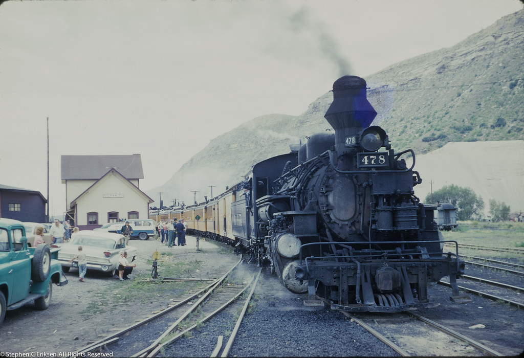 #478 ready to depart for Silverton in September of 1960.