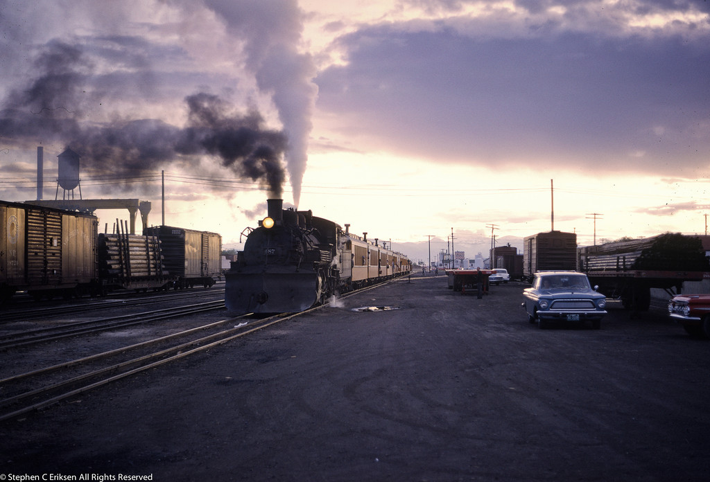 Beautiful early morning shot from June of 1964 in Alamosa, CO.