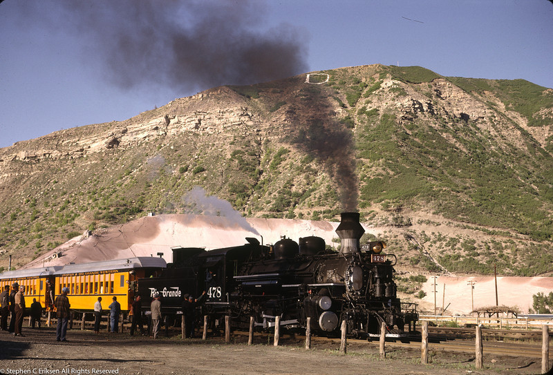 #478 ready to depart Durango on May 31st, 1963.