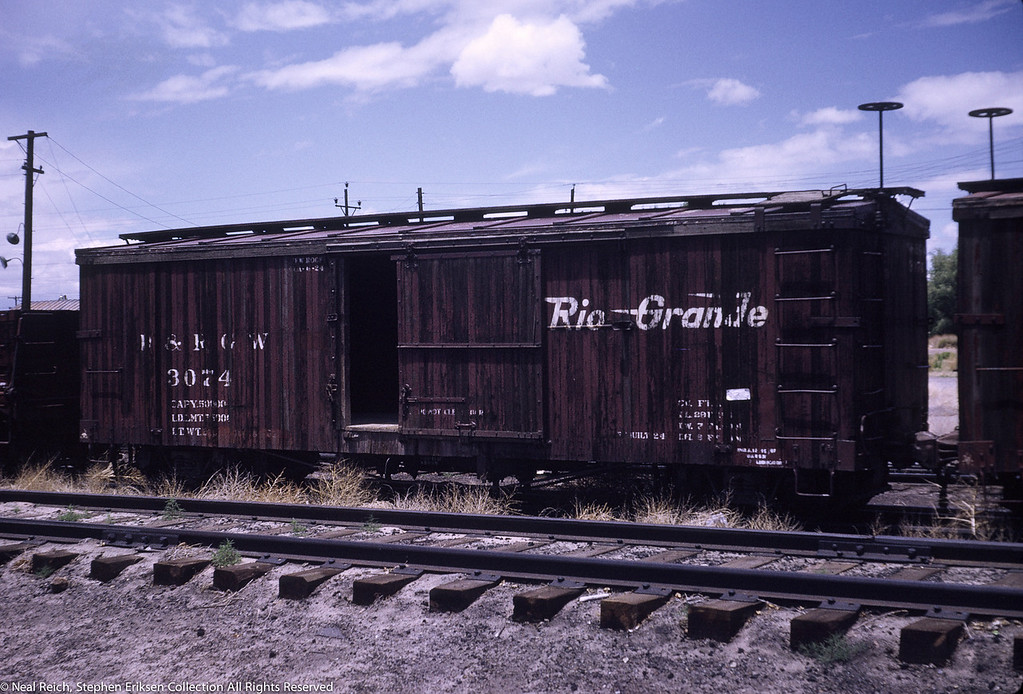 June, 1969 Boxcar 3074 in Alamosa