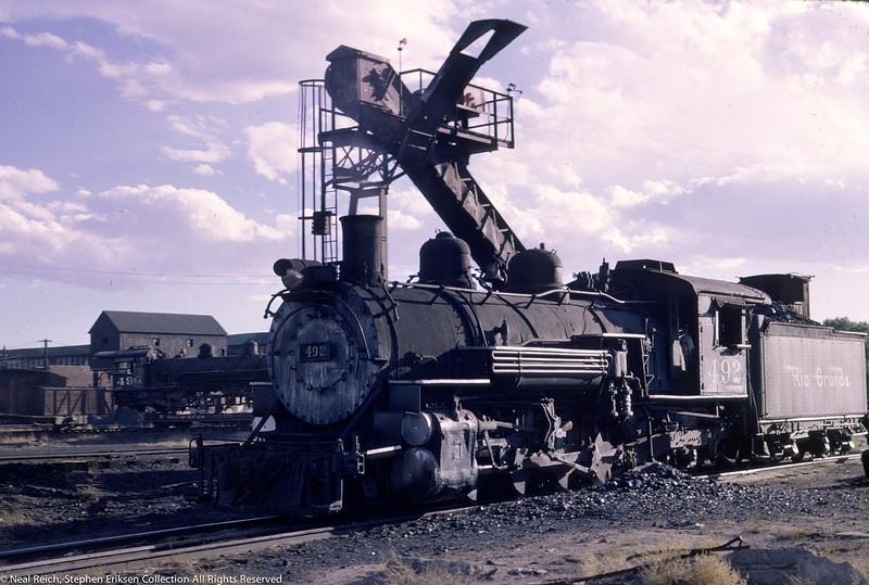 June 12, 1966 K-37 #492 at Alamosa, CO
