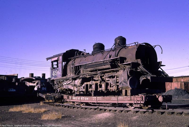 June 12, 1966 K-37 #490 at Alamosa, CO