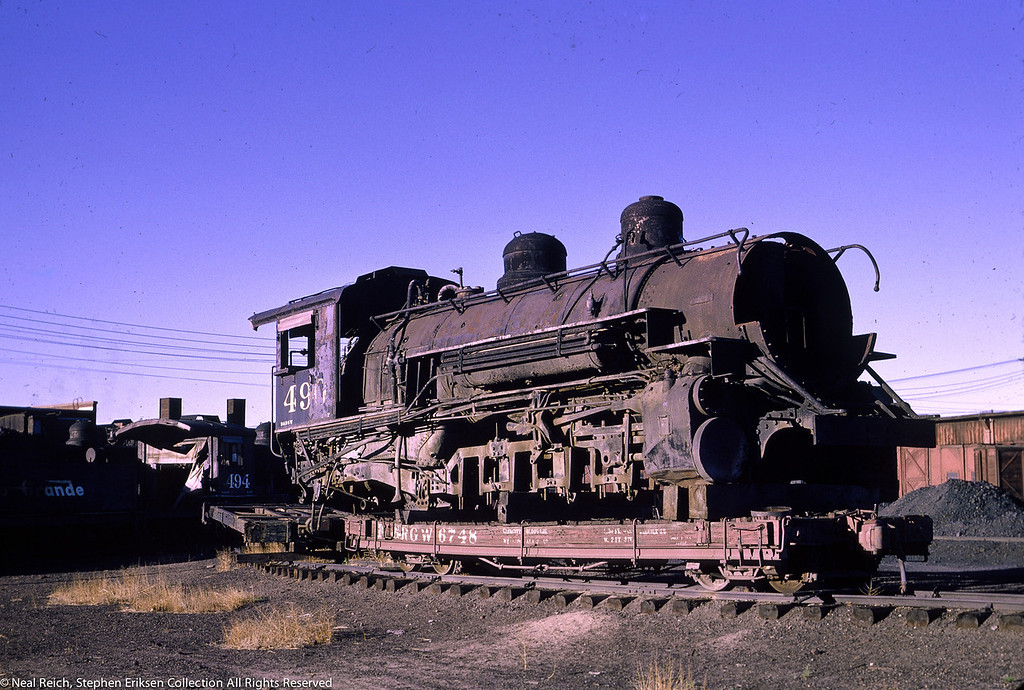 June 12, 1966 K-37 #490 at Alamosa, CO