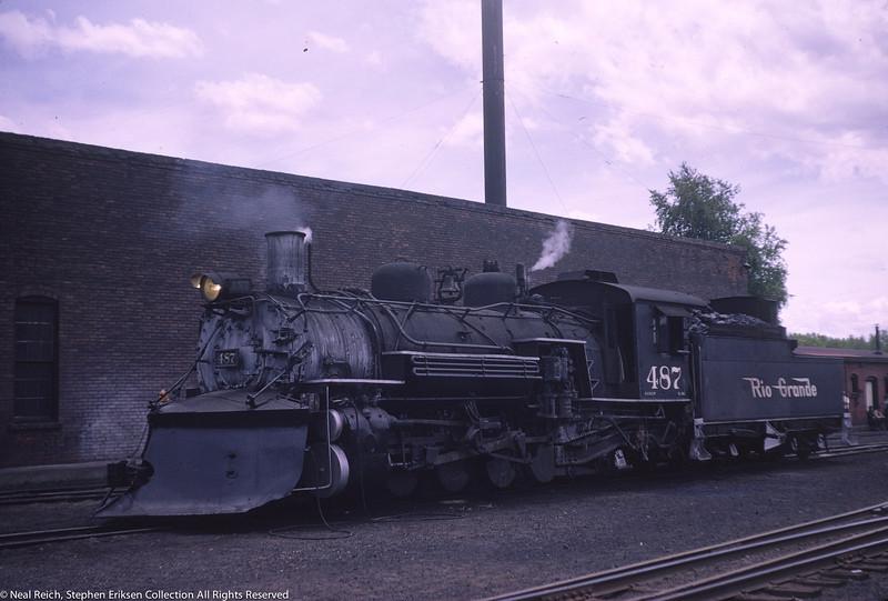 May 30, 1966 K-36 #487 at Chama, NM