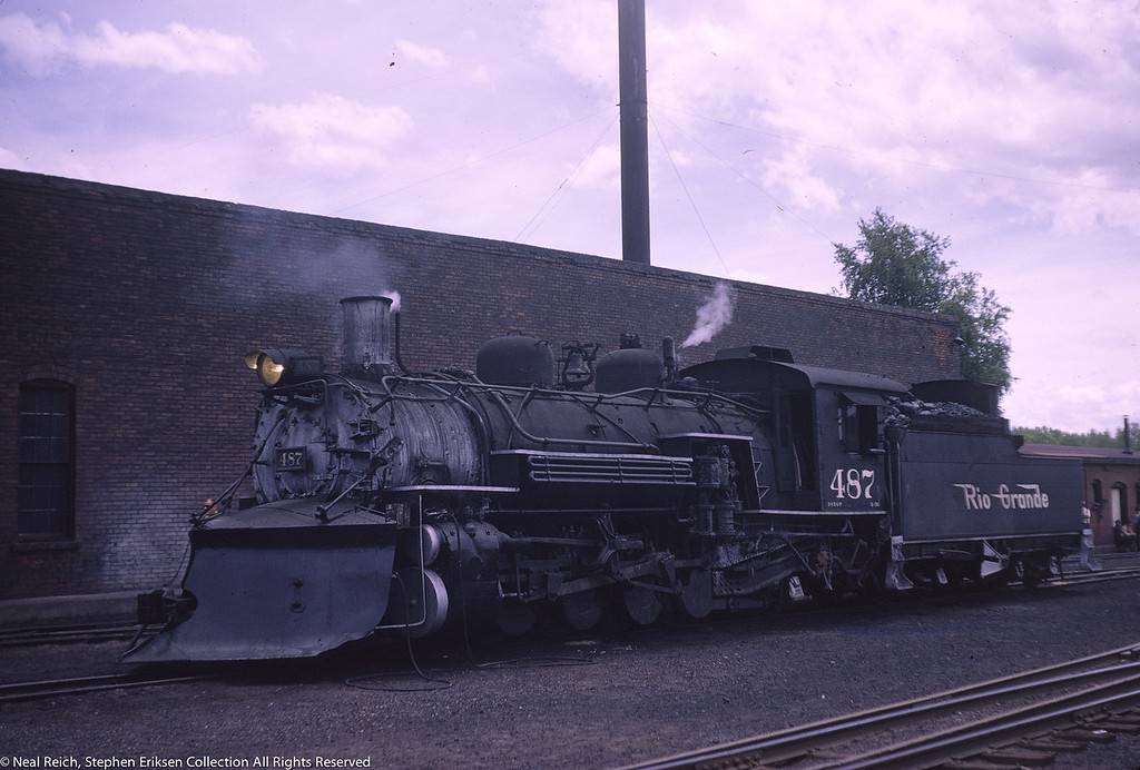 May 30, 1966 K-36 #487 at Chama, NM