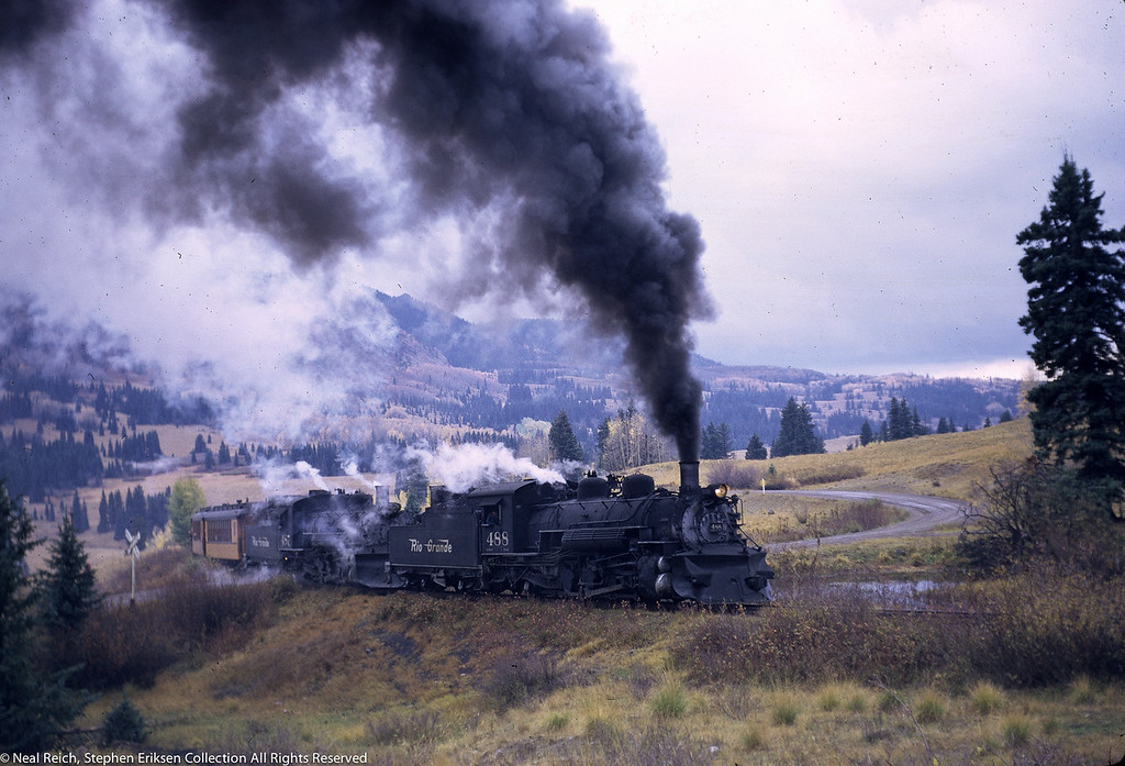 October 1, 1966 Kolor Karavan K-36#488 and #487 Coxo, CO