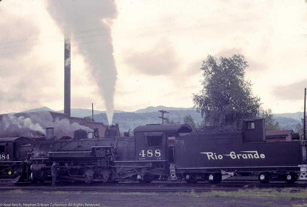 June 21, 1966 K-36 #488 Chama, NM