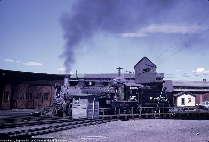 June 28, 1967 K-37 #497 in Alamosa, CO
