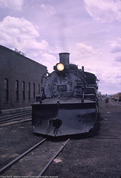 May 30, 1966 K-36 #487 Chama, NM
