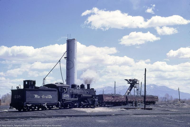 May, 1967 K-37 #498 at Alamosa, CO