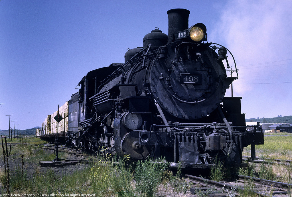 #498 arriving on July 18, 1968 into Chama, NM.