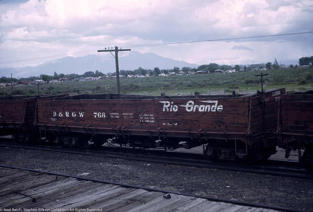 June, 1969 Drop Bottom Gon #766 in Alamosa, CO